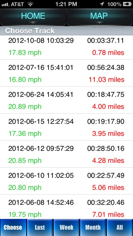 Bike Ride Tracker by 30 South screenshot-3