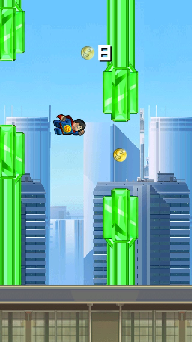 Super Flappy Justice League- Play Free Comic Hero Edition-0