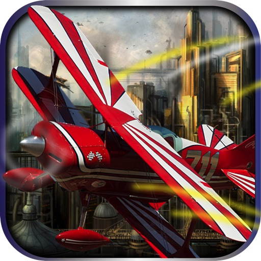 Plane Down Air - Turnament racing flight simulator-PRO