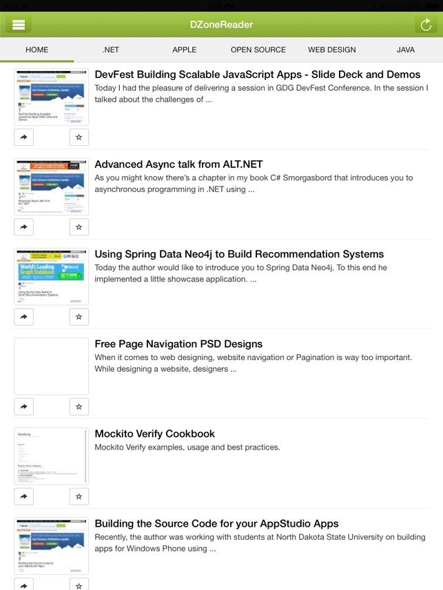 DZone Reader on the App Store