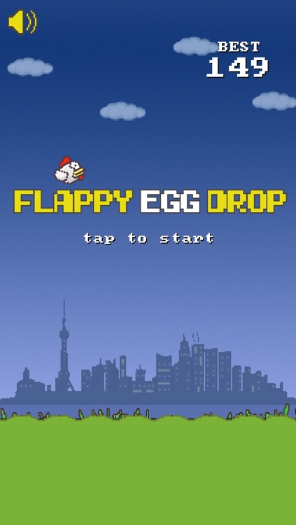 Flappy Egg Drop Free Fall