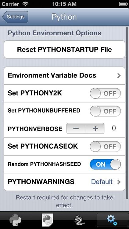 Python 3.2 for iOS screenshot-4