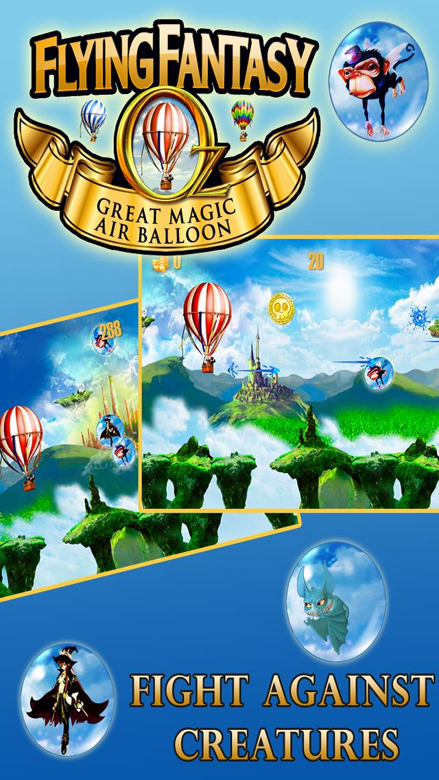 オズフライングファンタジー - グレートレースゲーム魔法の熱気球でのおすすめ画像2