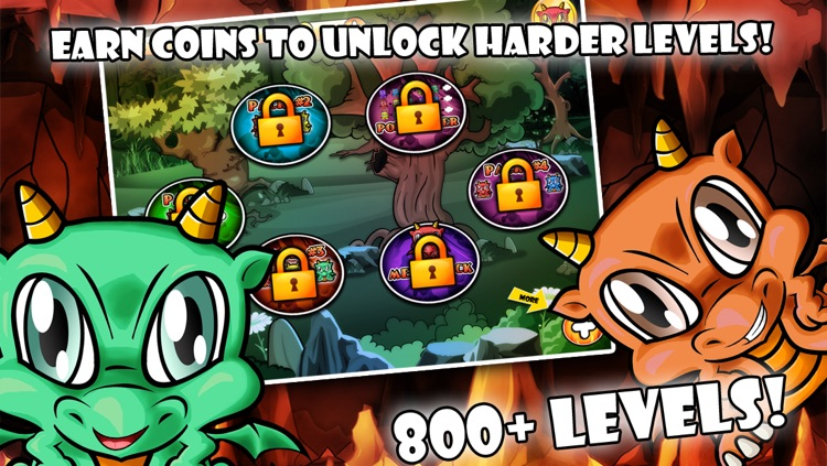 Dragon Poppers HD - Free Creatures Match & Crazy Power Puzzle Game screenshot-3