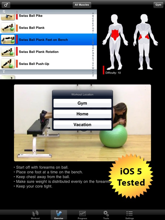iPersonalTrainer HD screenshot-0