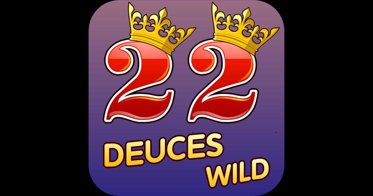deuces wild poker app