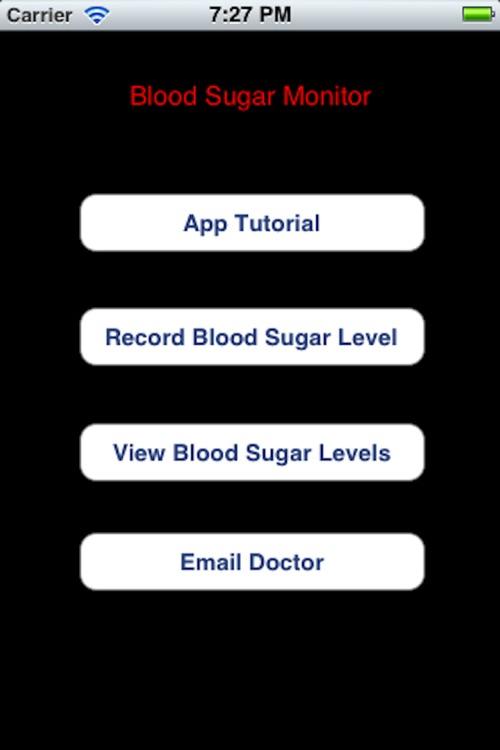 Blood Sugar Monitor