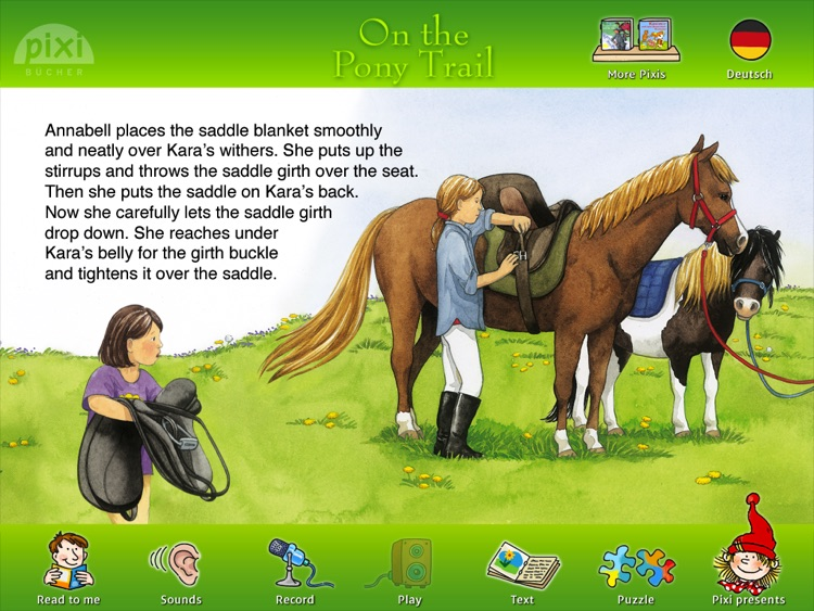 "Pixie Book ""On The Pony Trail"""