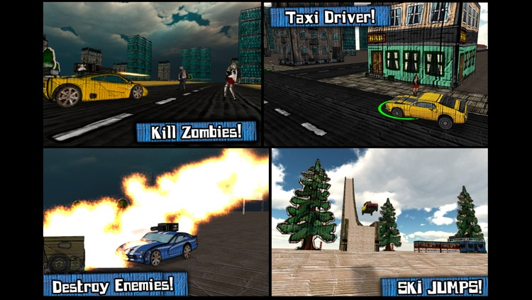 Cars And Guns 3D FREE screenshot-3