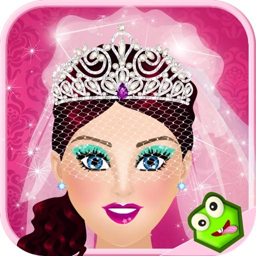 Princess Wedding Salon - Makeover & Dress-Up Games for Girls