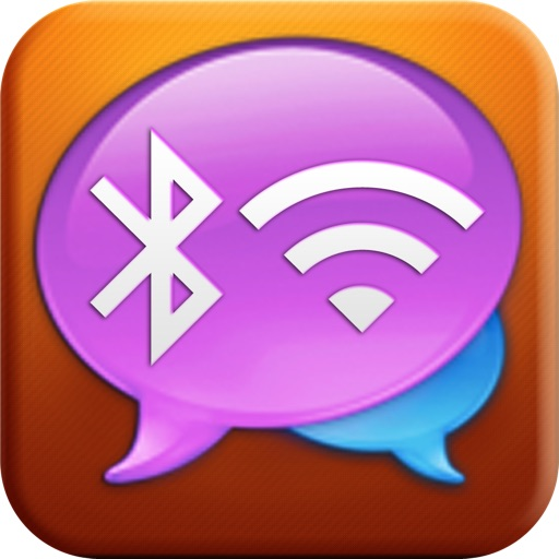 Bluetooth & Wifi Messenger : Chatting with friends without internet between iPhone, iPad and iPod