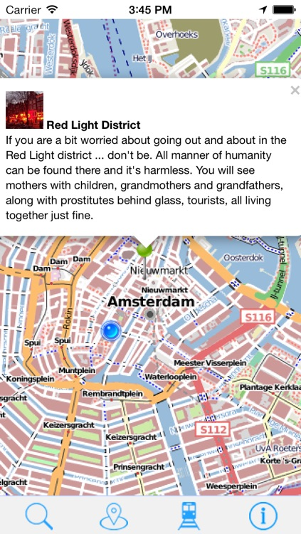 Offline Map Amsterdam - Guide, Attractions and Transport screenshot-3