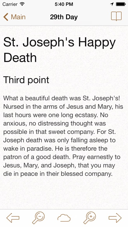 Saint Joseph: Catholic Meditations for Every Day in a Month screenshot-3