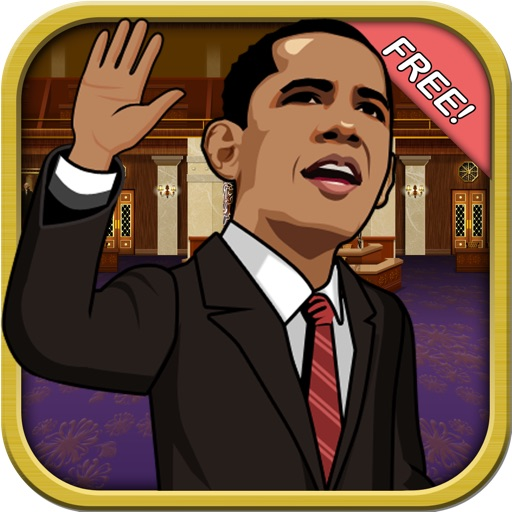 Fiscal Cliff Challenge Free - Obama vs Politicans Runner Game icon