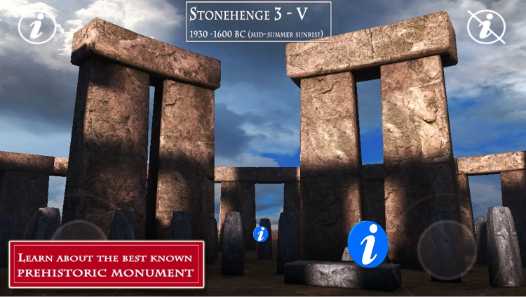Stonehenge - Virtual 3D Tour & Travel Guide of the best known prehistoric monument and one of the Wonders of the World screenshot-4