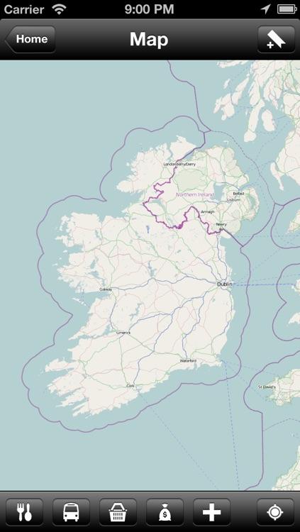 Offline Ireland Map - World Offline Maps