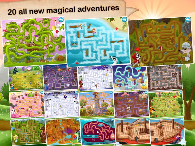 Fairytale Maze 123 Free - Fun learning with Children animated puzzle game screenshot-4