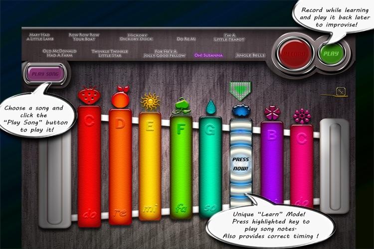 I Can Xylo - A Nursery Rhymes Teacher For Preschool and Kindergarten Children