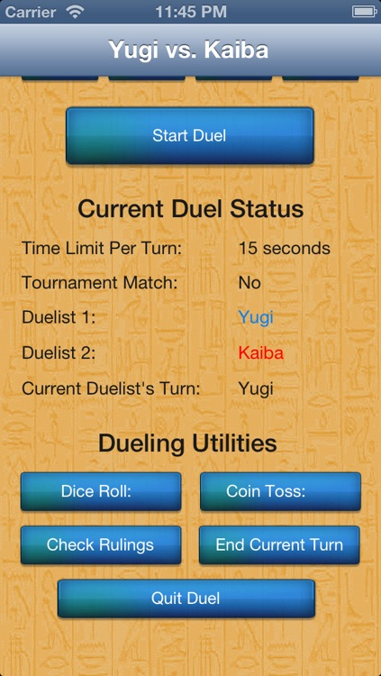 Duel Calculator Yu-Gi-Oh! Edition screenshot-4