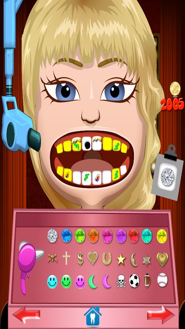 Celebrity Dentist Office Teeth Dress Up Game - Fun Free Nurse Makeover Games for Kids, Girls, Boysのおすすめ画像5