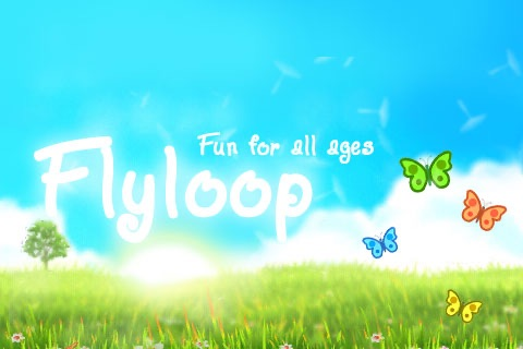 Flyloop: Butterfly Looping Fun screenshot-3