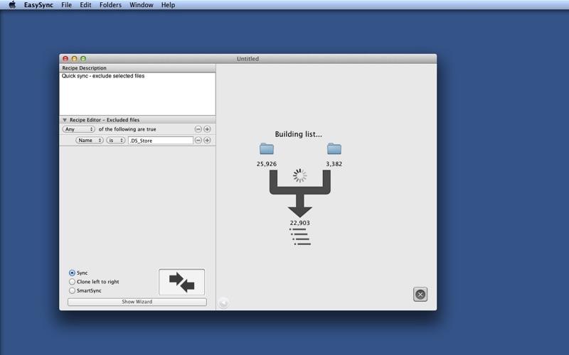 EasySync Screenshot