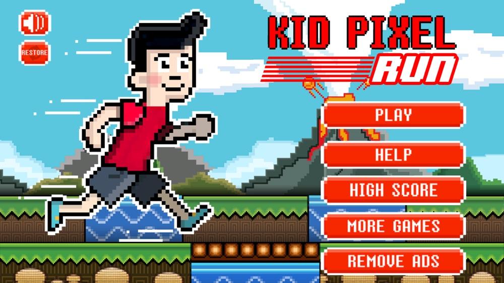 Kid Pixel Run Cheat Codes