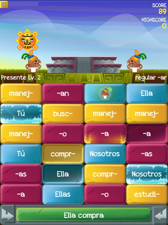 Verb Challenge Spanish - iPad Edition