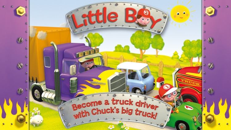 Chuck's big truck - Little Boy screenshot-0