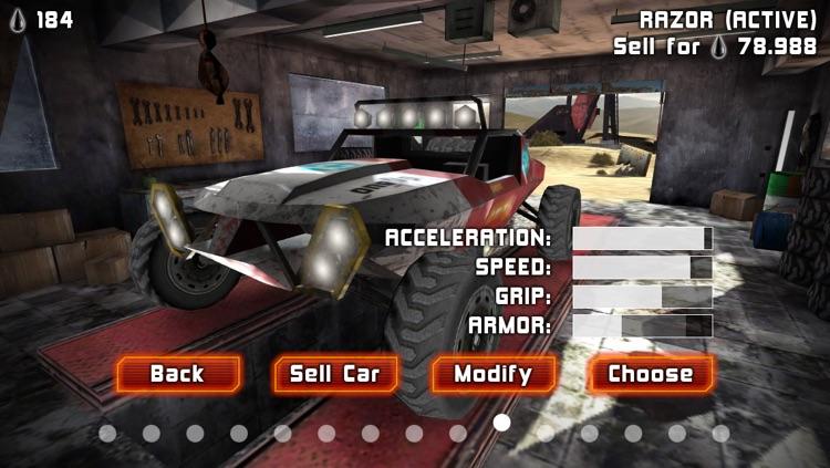 Uber Racer 3D - Sandstorm screenshot-4