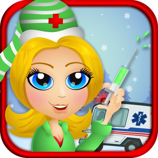 Christmas Ambulance - Virtual Kids EMT Nurse
