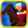 A Slender Subway Grandma Horse Run Racing