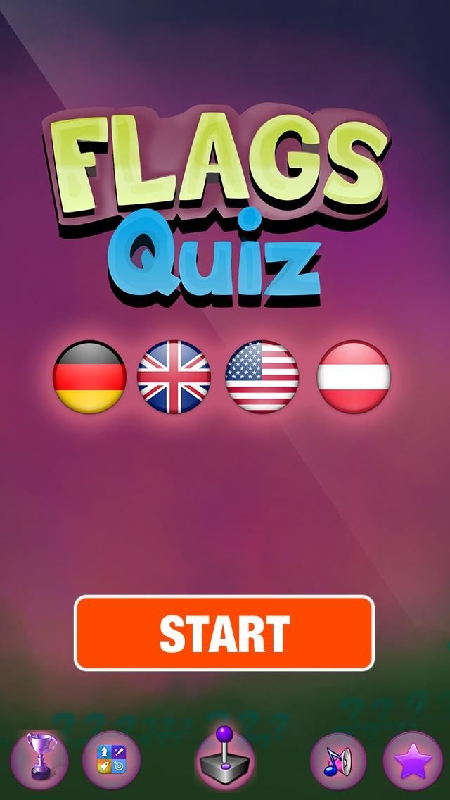 Atlas Fahnen Ratespiel - Freien Welt Quiz-SpielScreenshot von 1