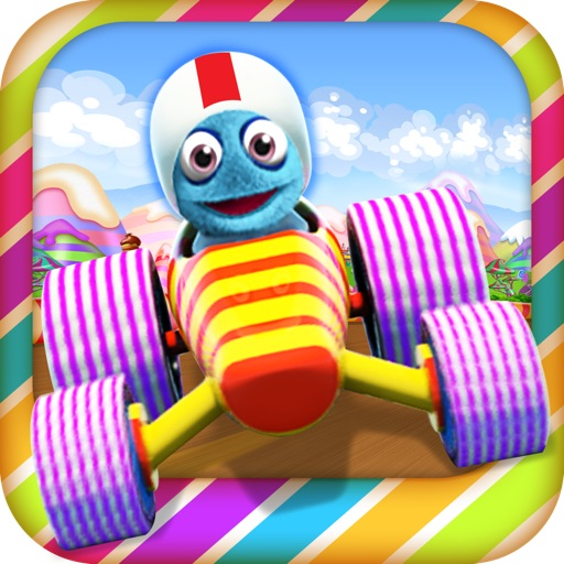 Candy Kart Racing 3D Lite - Speed Past the Opposition Edition!