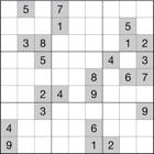 Sudoku (Number Place) - Un ottimo Modo per allenare il tuo Locale Cervello e divertirsi. gratuito icon