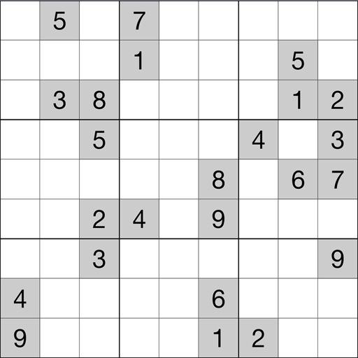 Судоку - простая и сложная головоломка для взрослых и детей.