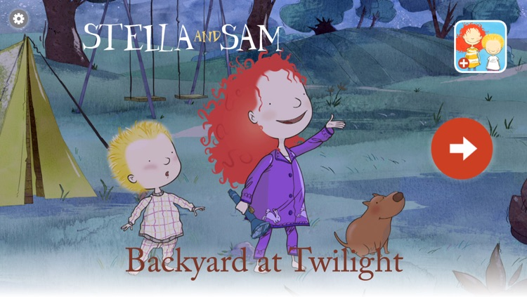 Backyard at Twilight: A Stella and Sam Adventure