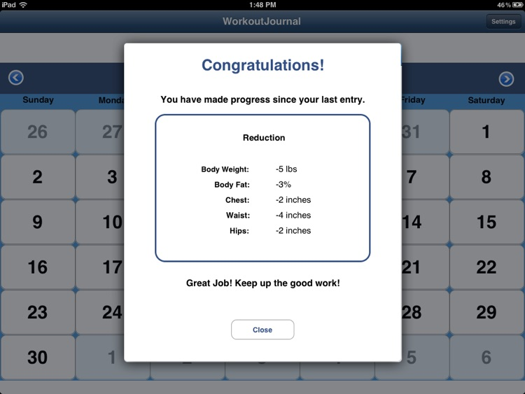 WorkoutJournal for iPad screenshot-3