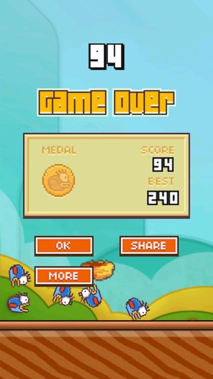 Fall Bird : The Flappy Catch Me Revenge screenshot-3