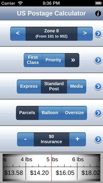US Postage Calculator screenshot-4