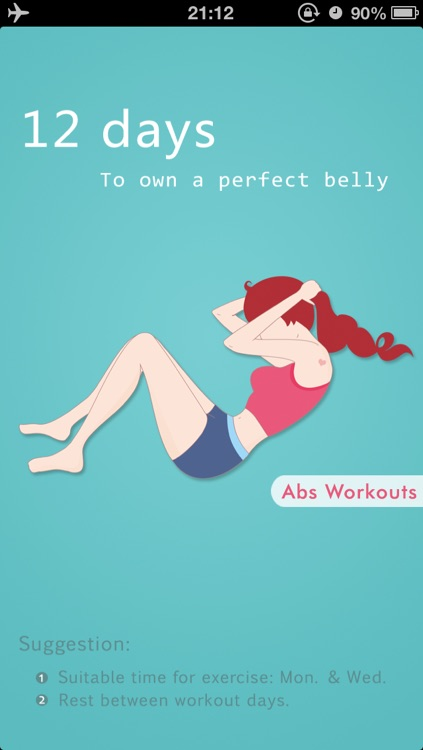 Abs Workouts - Getting A Perfect Belly in 12 Days