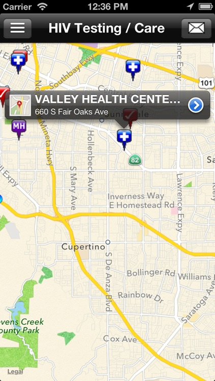 HIV Testing Sites & Care Services Locator