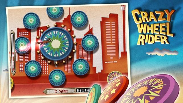 Crazy Wheel Rider HD Screenshot