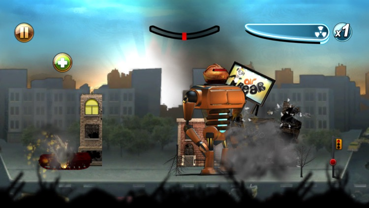 Robot Rampage screenshot-3