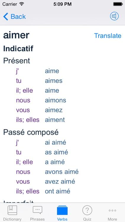 French English Dictionary + Freemium screenshot-3