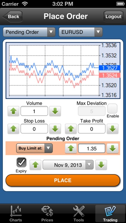 Forex On The Go Lite screenshot-4