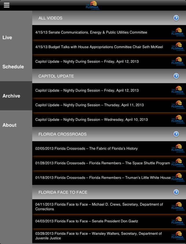 The Florida Channel on the App Store