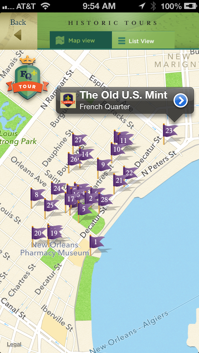 French Quarter, Garden District Historic Tours and New Orleans Streetcar Tracker screenshot three