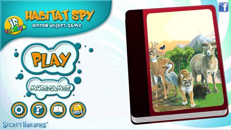 Hidden Object Game Jr FREE - Habitat Spy screenshot-3