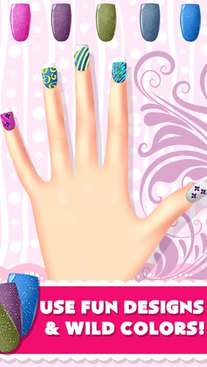 A nail salon games designs makeover spa on the app store prinsesfo Gallery